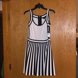 Guess Black and White mini dress